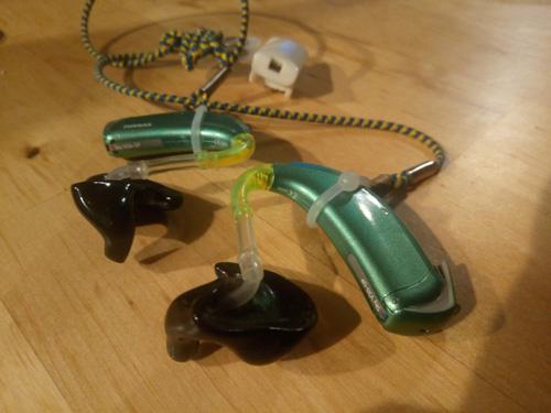 購入した補聴器